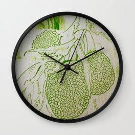 Breadfruit Wall Clock
