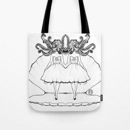 When Mermaids Attack Tote Bag