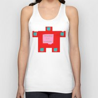 om Tank Tops featuring OM by lucborell
