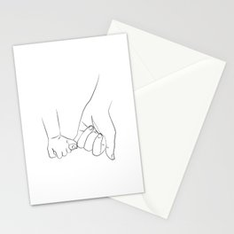 promettre - The dad son promise Stationery Cards