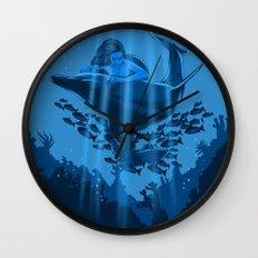 The Underwater Fantasy Wall Clock