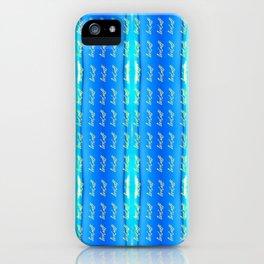 Nes Croft Signature iPhone Case