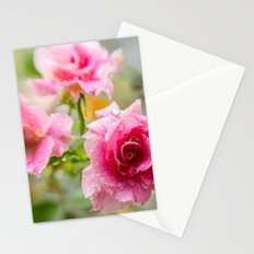 Rain on Those Petals of Yours Stationery Cards