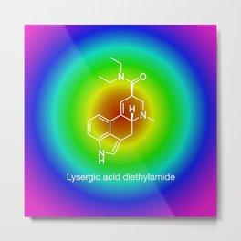Lysergic acid diethylamide Metal Print