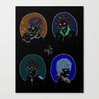 golden girls Canvas Prints featuring I Heart the Golden Girls Print by Jackie Thomson