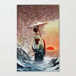 That Day After in Japan Canvas Print