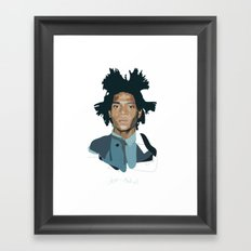 Jean-Michel Basquiat - Artist Series Framed Art Print