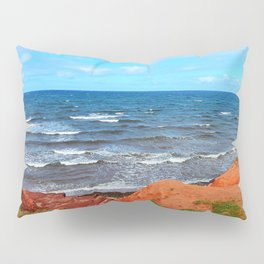Rolling Waves in East Point PEI Pillow Sham