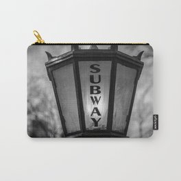 NYC Subway Lamp Carry-All Pouch