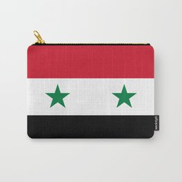 Flag of Syria, High Quality image Carry-All Pouch