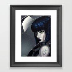 pollito Framed Art Print