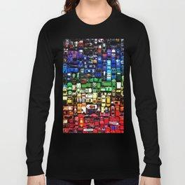 gridlock spectrum  Long Sleeve T-shirt