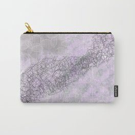 Shades of Pink and Gray Carry-All Pouch