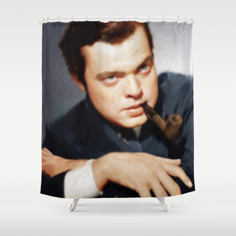 Orson Welles Shower Curtain by Esotericaartagency CTN8309622