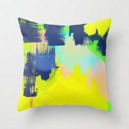 Yellow and More Throw Pillow
