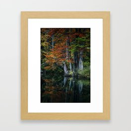 In Search of Faunus Framed Art Print