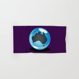 Australia Crystal Ball Hand & Bath Towel