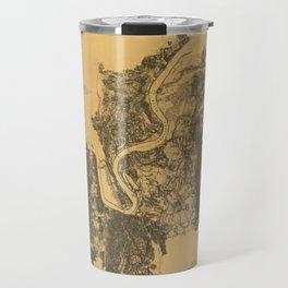 Map of Civil War Battlefield of Chattanooga (1875) Travel Mug