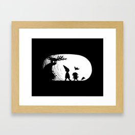 Beware the Unknown Framed Art Print