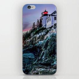 Bass Harbor Light in Acadia National Park iPhone Skin