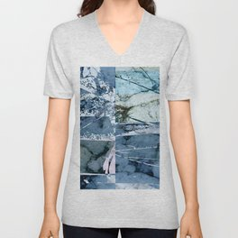 Cool Abstraction Unisex V-Neck