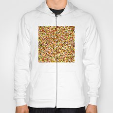 Noise pattern - yellow/red Hoody