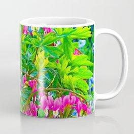 GREEN SPRING GARDEN PINK BLEEDING HEARTS Coffee Mug
