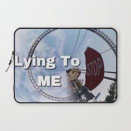 STOP LYING Laptop Sleeve