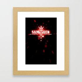 Samurai Genji Logo Framed Art Print