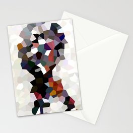 Geometric Anatomy Stationery Cards