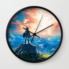 Zelda Breath of the Wild Wall Clock