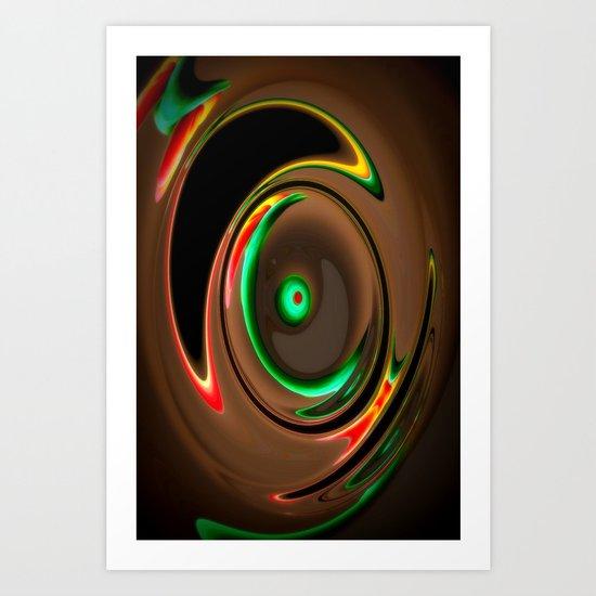 Wirbel Art Print