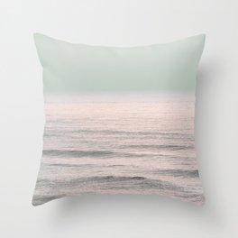 Winter Surfing IV Throw Pillow