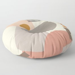 Modern Art Floor Pillow