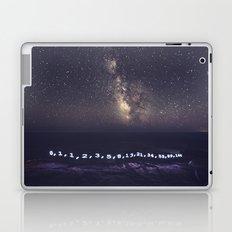 Fibonacci Sequence under the Stars Laptop & iPad Skin