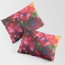 Geranium Reds Pillow Sham