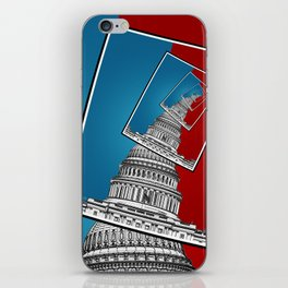 Leaning To The Right iPhone Skin