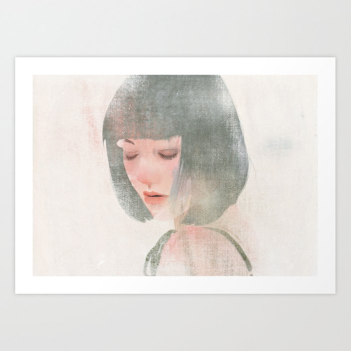 Something About Women V Art Print