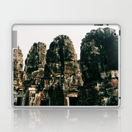 TRANSCENDENCE // The Bayon, Siem Reap, Cambodia Laptop & iPad Skin