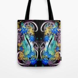 Surf Board tat - Double - Black  Tote Bag