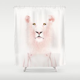Unfinished Melancholy #5 Shower Curtain