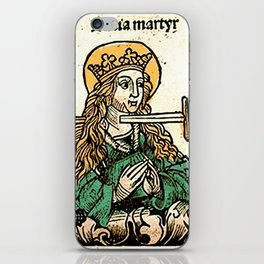 Saint Lucy iPhone Skin