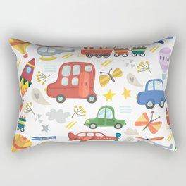 Transportation Rectangular Pillow