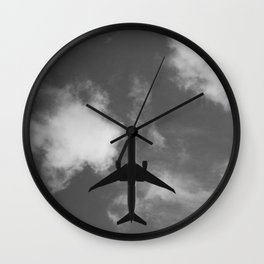 Overhead Wall Clock