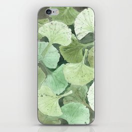 Ginkgo Leaves iPhone Skin