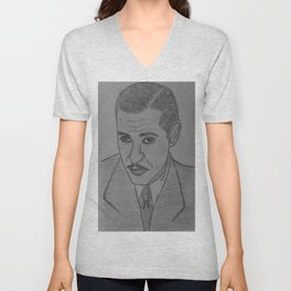 Clark Gable  Unisex V-Neck