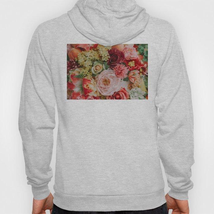 Vintage Flowers Hoody