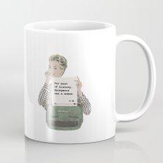 Virginia Woolf Quote Mug