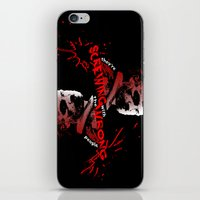 rick grimes iPhone & iPod Skins featuring Rick Grimes by artandawesome