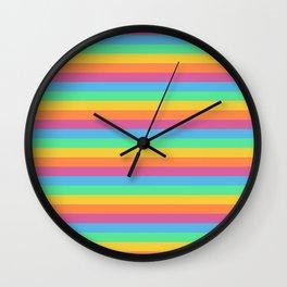 Just colors Wall Clock